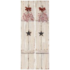 Portfolio II Weathered Window Shutters Accents Wall Mural