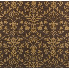 Bling Pagoda Damask Wallpaper