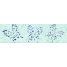 Candice Olson Kids Butterfly Scroll Border