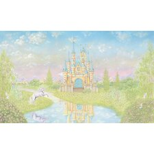 <strong>York Wallcoverings</strong> York Kids IV Princess Full Wall Mural