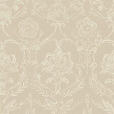 <strong>York Wallcoverings</strong> French Dressing Sheer Damask Wallpaper