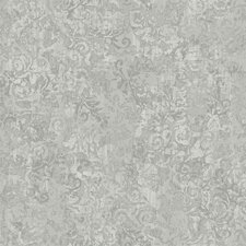 <strong>York Wallcoverings</strong> French Dressing Layered Scroll Wallpaper