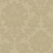 French Dressing Textured Damask Wallpaper