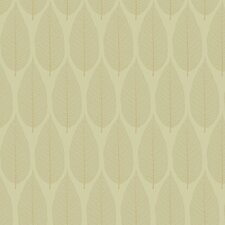 Candice Olson II Dimensional Surfaces Pressed Leaf Wallpaper