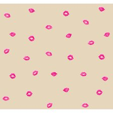 Risky Business Smooches Abstract Wallpaper