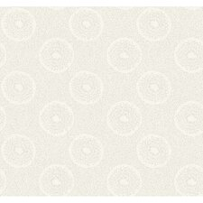 Jewel Box Shimmer Polka Dot Wallpaper