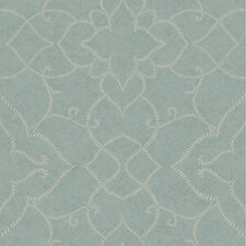 Jewel Box Starling Damask Wallpaper