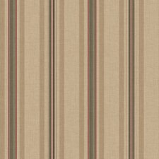 <strong>York Wallcoverings</strong> Ashford Stripes Multi Pinstripe Wallpaper