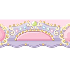 Peek-A-Boo Carousel Topper Wallpaper Border