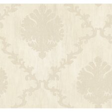 Fresco Textured Frame Motif Wallpaper