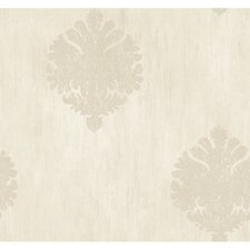 Fresco Textured Motif Wallpaper