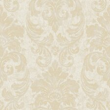 <strong>York Wallcoverings</strong> Fresco Damask Wallpaper