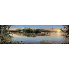 Mural Portfolio II Tranquil Evenings Wildlife Border Wallpaper