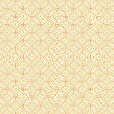 Silhouettes Lacey Interlocking Circles Damask Wallpaper