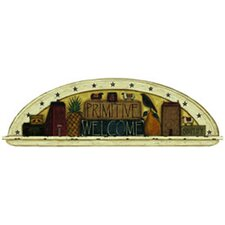 Portfolio II Trompe L'Oiel Folk Art Primitive Welcome Arch Accent Wall Mural