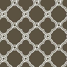 <strong>York Wallcoverings</strong> Silhouettes Trellis Fretwork Wallpaper