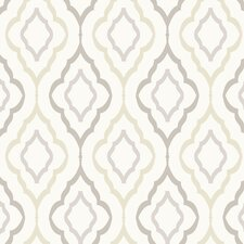 Candice Olson Inspired Elegance Diva Geometric Wallpaper