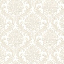 <strong>York Wallcoverings</strong> Gentle Manor Architectural Damask Wallpaper