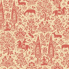 Silhouettes Woodland Tapestry Toile Wallpaper