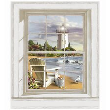 Mural Portfolio II Scenic Lighthouse Accent Wall Decal