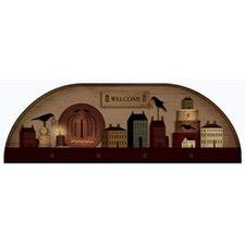 Portfolio II Trompe L'oiel Wooden Arch Painted Wall Mural
