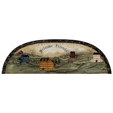 Portfolio II Welcome Friends Country Arch Accent Wall Mural