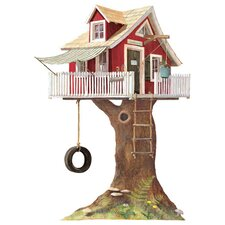Mural Portfolio II Clubhouse Tree House Wall Decal