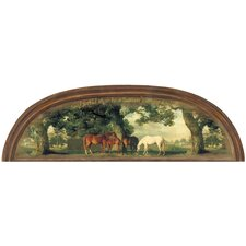 Portfolio II God Forbid Heaven without Horses Arched Accent Wall Mural