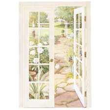 Portfolio II French Doors Into Garden Wall Mural