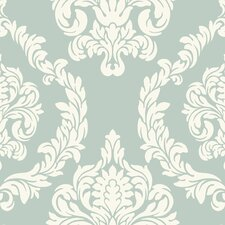 <strong>York Wallcoverings</strong> Candice Olson Inspired Elegance Aristocrat Damask Wallpaper