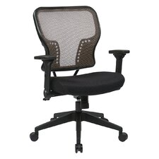 "Space 21.25"" Chair with 2-to-1 Synchro Tilt Control"