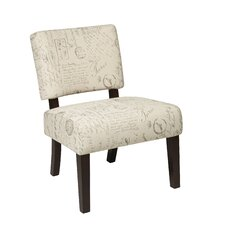 Jasmine Accent Chair in Script