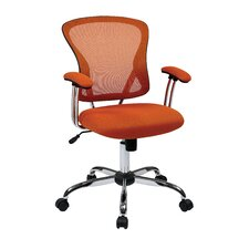 "Ave Six 17.5"" Mesh Juliana Task Chair with Mesh Seat"