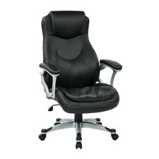 Work Smart Executive Chair with Padded Arms