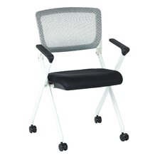 SPACE Mid-Back Office Chair with Arm (Set of 2)