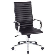 Work Smart High-Back Office Chair with Arms