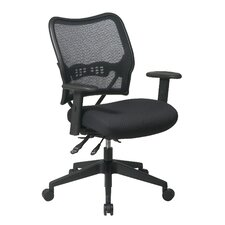 Space Manager's Chair with Air Grid Back and Mesh Seat