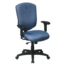 Work Smart High-Back Executive Chair with Arms