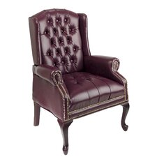 <strong>Office Star Products</strong> Traditional Queen Ann Style Chair