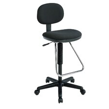 Height Adjustable Drafting Chair with Footrest