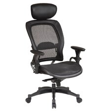 <strong>Office Star Products</strong> SPACE Matrex High-Back Office Chair with Arms