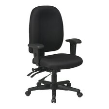 <strong>Office Star Products</strong> Mid-Back Ergonomic Office Chair with Arms