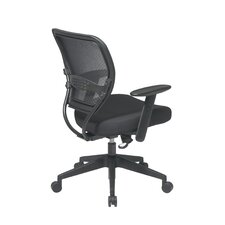 <strong>Office Star Products</strong> SPACE Professional Air Grid Matrex Mid-Back Managerial Chair with Arms