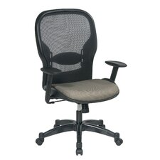 <strong>Office Star Products</strong> Air Grid Back and Fabric Seat Managerial Chair