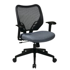 <strong>Office Star Products</strong> Space Seating VeraFlex Seat and Dark AirGrid Managerial Chair