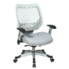 <strong>Office Star Products</strong> SPACE REVV® Series - Self Adjusting Ice SpaceFlex® Back Chair and Shadow Mesh Seat