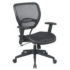 <strong>Office Star Products</strong> SPACE Mid-Back Task Chair with Adjustable Arms