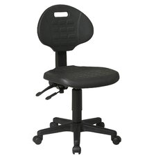 <strong>Office Star Products</strong> Low Black Ergonomic Office Chair
