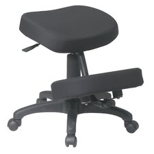 Low-Back Ergonomically Designed Knee Office Chair