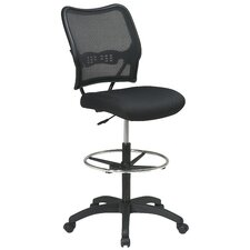 <strong>Office Star Products</strong> Height Adjustable Drafting Chair with Footring
